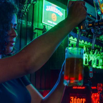 Appel n°28: Le black-out au bar Moonlight Fox (avec Ambre)