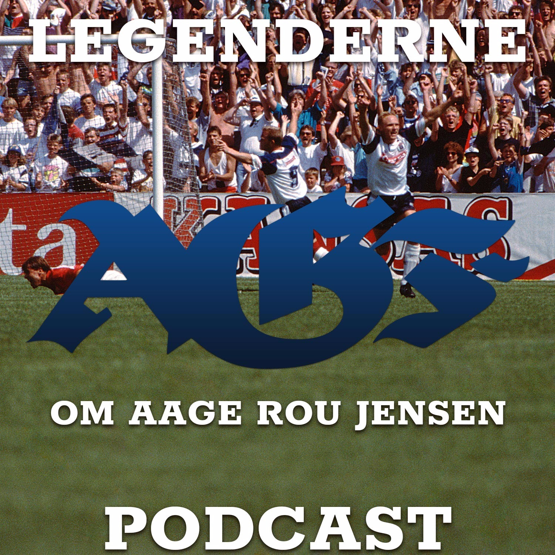 AGF Legenderne - Aage Rou Jensen