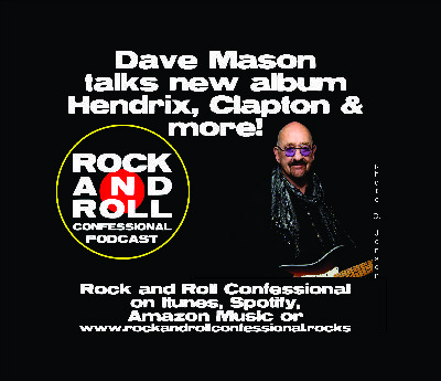 Former Traffic guitarist and singer Dave Mason talks about getting Covid, playing with Hendrix Clapton, Fleetwood Mac & more