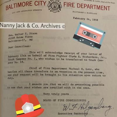 Episode 29: Historic Baltimore African American Firefighters with George Collins