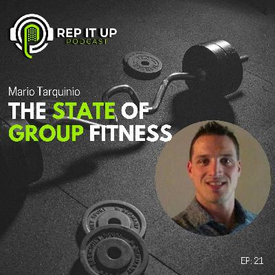 THE STATE OF GROUP FITNESS with Mario Tarquinio