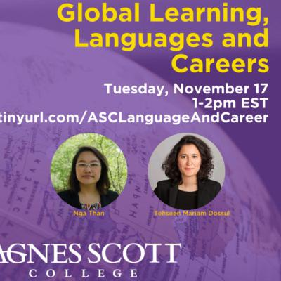 International Professional Success with ASC Alums: National Study Abroad Day, February 22nd