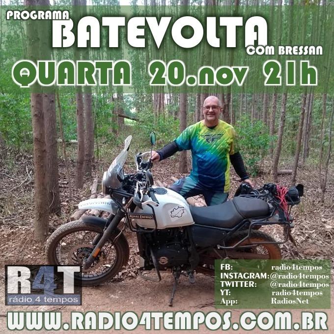 Rádio 4 Tempos - BateVolta 180:Rádio 4 Tempos