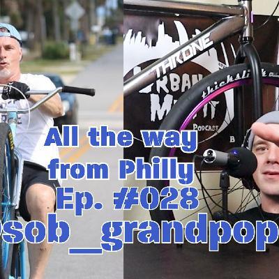 UMP Bikelife Ep. #028   Neil Aka SOB Grandpop   50yrs young doing wheelies!