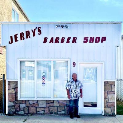 Jerry of Jerry's Barber Shop in Leask Retires After 51 Years By Norma Galambos