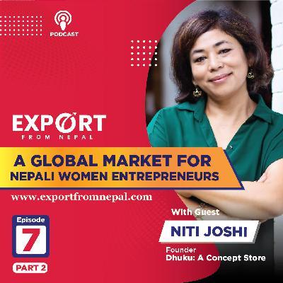 A Global Market For Nepali Women Entrepreneurs | Export From Nepal