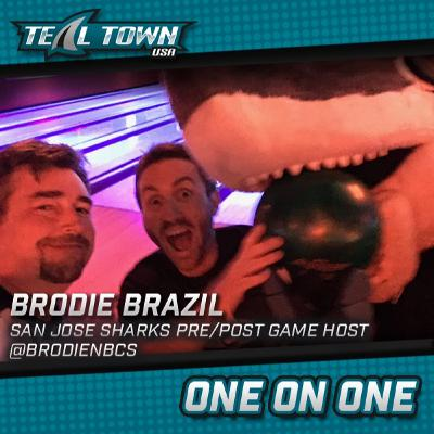 One on One with Brodie Brazil - San Jose Sharks - 3-30-20