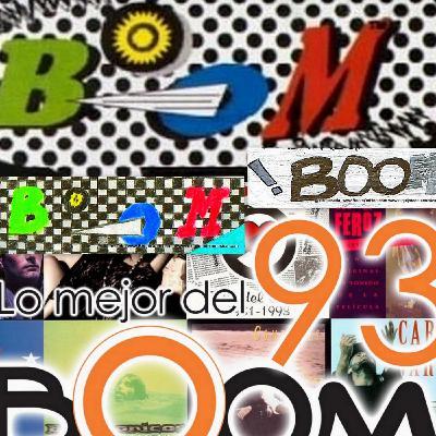 Boom Radio con Kike Posada y Fabio Vallebona en 1993, Programa de Rock en Español en Miami.