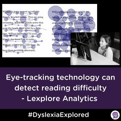 #47 Eye-tracking technology detects reading difficulty - Lexplore Analytics Presentation part 1