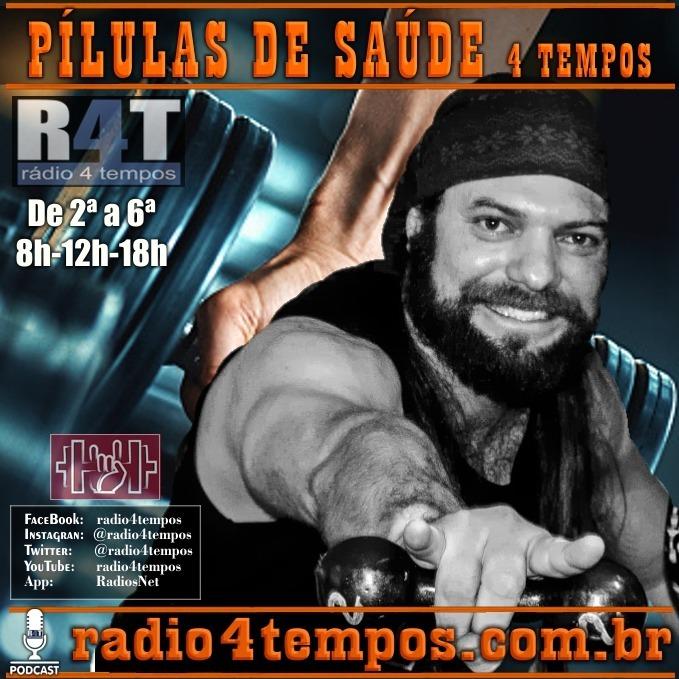 Rádio 4 Tempos - Pílulas de Saúde - 02:Rádio 4 Tempos