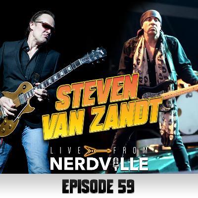 Episode 59 - Steven Van Zandt - July 14th 2021