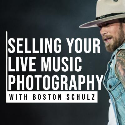Licensing Your Live Music Photography with Boston Schulz