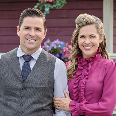Pascale Hutton and Kavan Smith from When Calls the Heart