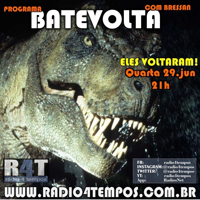 Rádio 4 Tempos - BateVolta 185:Rádio 4 Tempos