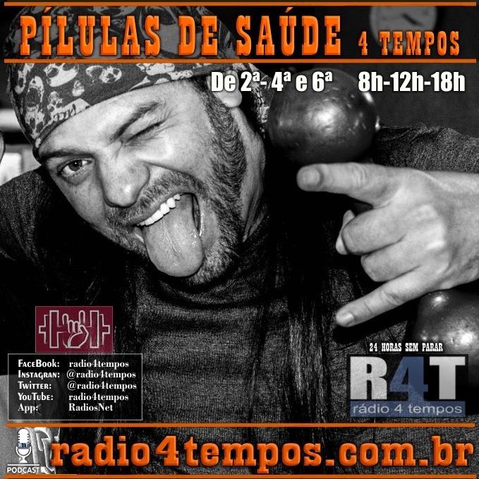 Rádio 4 Tempos - Pílulas de Saúde - 42:Rádio 4 Tempos