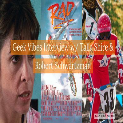 Geek Vibes Interview w/ Talia Shire & Robert Schwartzman