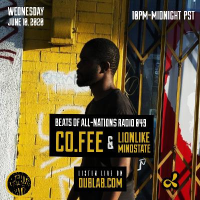 Co. Fee and LionLike Mindstate | Beats of All-Nations Radio 049 on Dublab