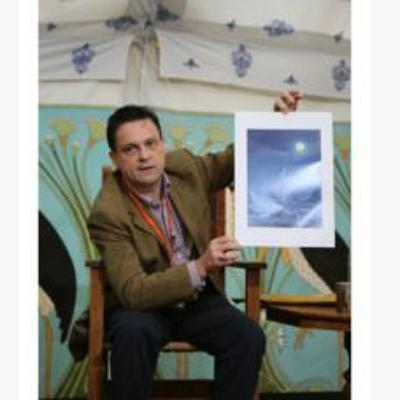 Damien Lewis at North Cornwall Book Festival