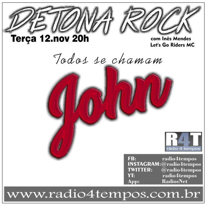 Rádio 4 Tempos - Detona Rock 28:Rádio 4 Tempos