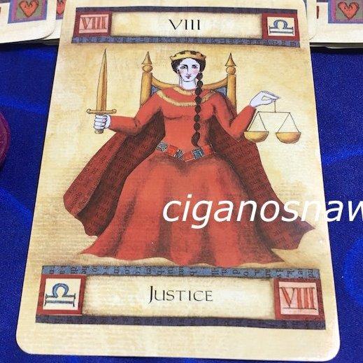 Tarot da Semana - Justiça