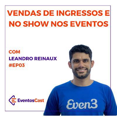EventosCast #T2/#Ep03 - Vendas de Ingresso e No Show em Eventos com Leandro Reinaux