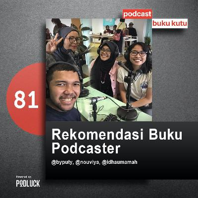 Ep 81: Rekomendasi Buku Podcaster