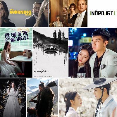 273. Den med Downton Abbey-filmen, Lejonkungen, The End of the F***ing World S2, Apple TV+-serier och koreanska tv-dramer
