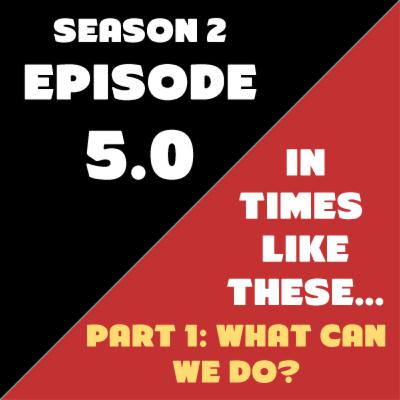 Season 2 - Episode 5: In Times Like These: PART 1 - What Can We Do?
