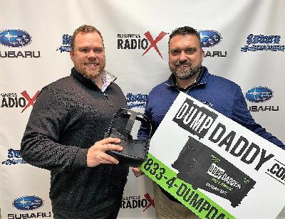 Macrae Cain of The Digital Media House and Mark Johnson of Dump Daddy