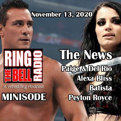Minisode: Paige & Del Rio, Alexa Bliss, Batista - 11/13/20