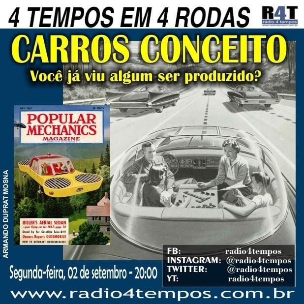 Rádio 4 Tempos - 4 Tempos em 4 Rodas 22:Rádio 4 Tempos