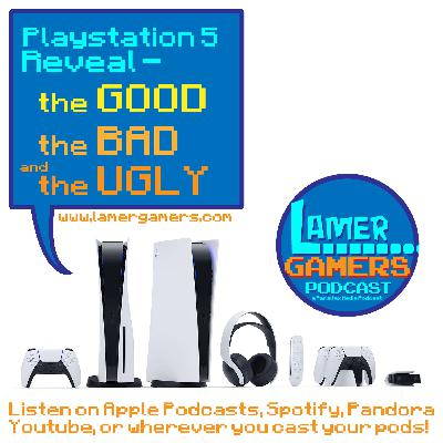 PS5 Reveal - the Good, the Bad, and the Ugly