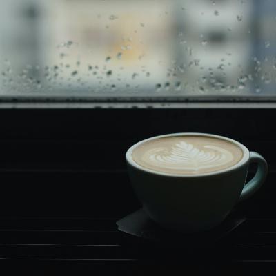 Rainy Day Coffee Shop