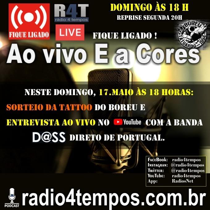 Rádio 4 Tempos - Ao Vivo E a Cores 71