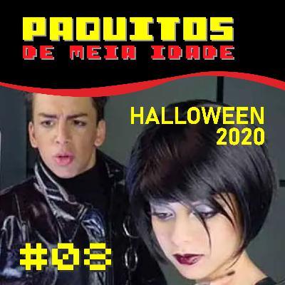 #08 Paquitos de Meia Idade - Especial de Halloween com a Patsy do Papo Delas