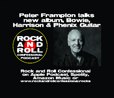 Peter Frampton talks new album, his great friend David Bowie, recording with George Harrison
