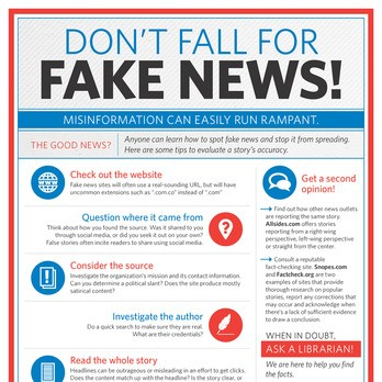 Don't Fall For Fake News
