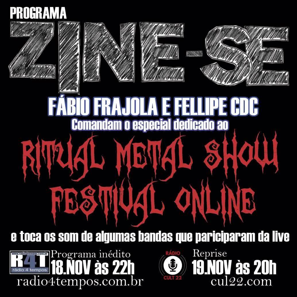 Rádio 4 Tempos - Zine-se 202:CdC e Frajola
