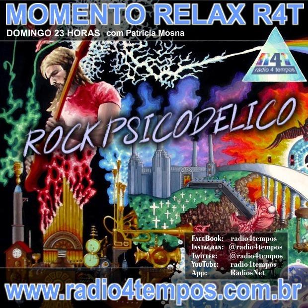 Rádio 4 Tempos - Momento Relax - Psychedelic Rock:Rádio 4 Tempos