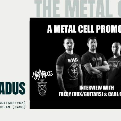 Nomadus Promo: Fredy (Guitars & Vocals) and Carl (Bass) of Nomadus talk about their two new digital single releases: Dawn of Darkness and Silent Dusk.