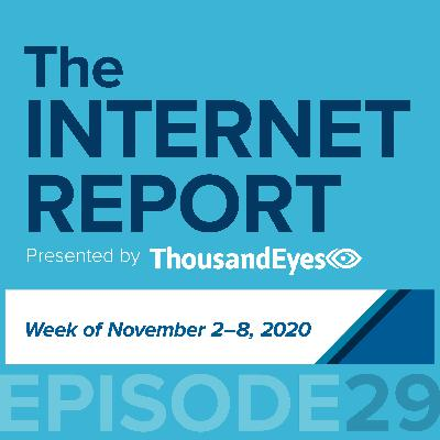 Ep. 29:  2020 Election—The Internet Held Strong with a Few App Performance Glitches (Week of Nov. 2- 8)