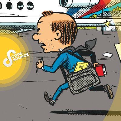 Il a suivi Depardieu, Hollande, Macron... Rencontre avec le reporter-dessinateur Mathieu Sapin (L'intégrale)