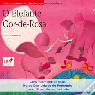 O elefante cor-de-rosa
