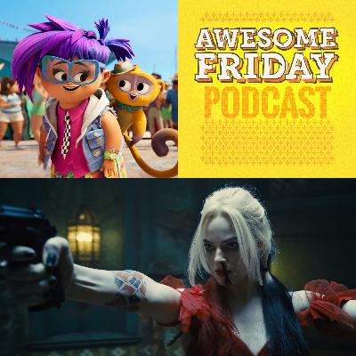 Episode 4: Awesome Friday Movie Podcast: Vivo & The Suicide Squad