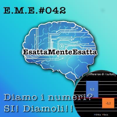P.42 Diamo i numeri? SI, Diamoli!!