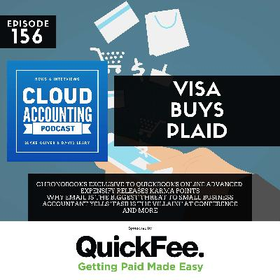 Visa acquires Plaid & Intuit makes ChronoBooks exclusive to QBO Advanced