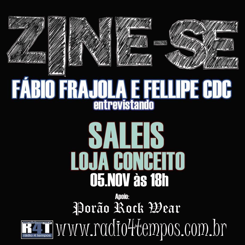 Rádio 4 Tempos - Zine-se 28