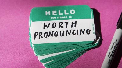 The Importance Of Pronouncing Names Correctly