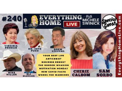 240 LIVE: SAM SORBO + Best Life, Antichrist, Biz Reboot, Border, Motivate, Covid