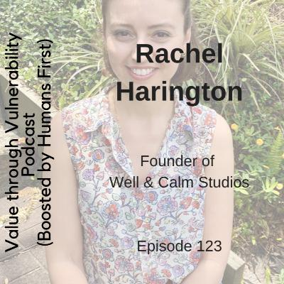 Episode 123 - Rachel Harington, founder of Well & Calm Studios
